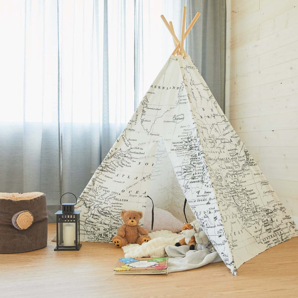 World Map Teepee (pre-order)