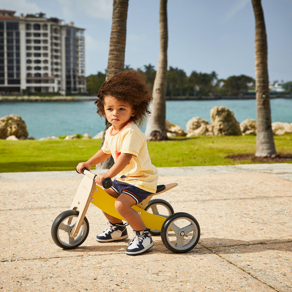 2-in-1 Balance Bike - YELLOW