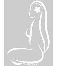 "Load image into Gallery viewer, 7"" VAHINE SILHOUETTE STICKER"