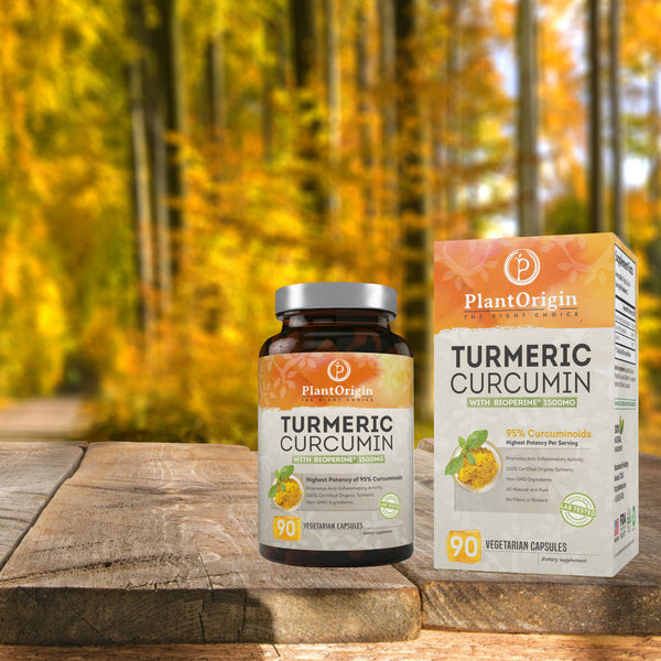 PlantOrigin Launches Turmeric Curcumin With Superior Bioavailability and Absorption