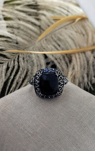 Karis for TJC Sterling Gemstone Ring