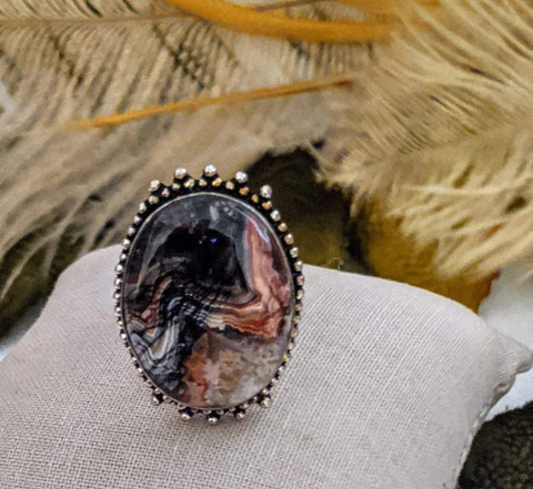 Artisan Crafted Sterling Jasper Ring
