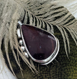 Artisan Crafted Sterling Silver Jasper Pendant