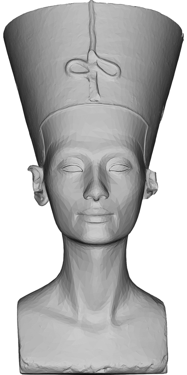 Queen Nefertiti is a beauty icon in history.