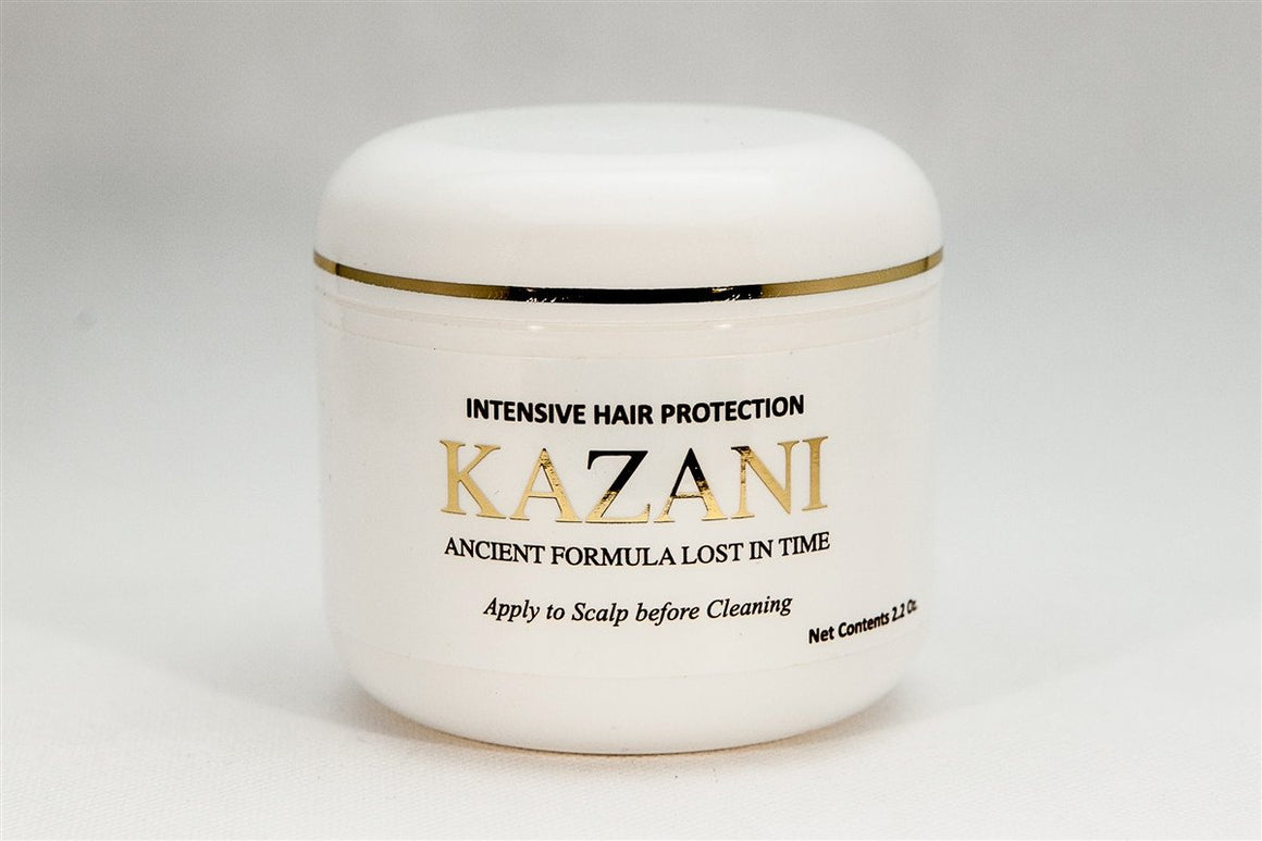 Kazani Internsive Hair Care. Strong, healthy hair.