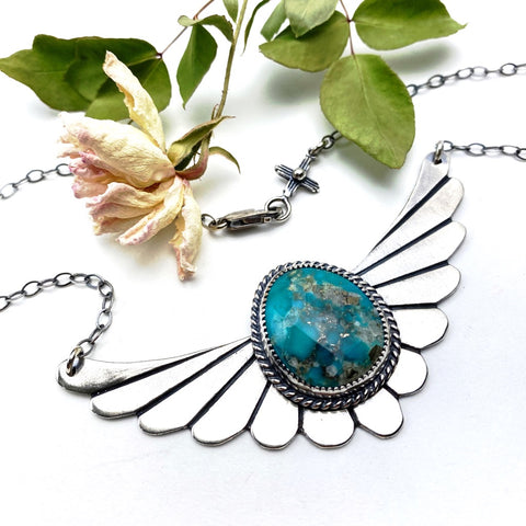 Winged Warrior Necklace - ((Reserved for Lucas)) - Meltdown Studio Jewelry