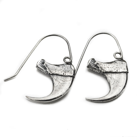 Bobcat Claw Earrings - Meltdown Studio Jewelry