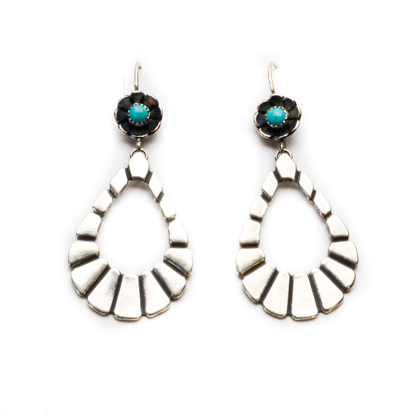 Petite Santa Fe Hoops - Meltdown Studio Jewelry
