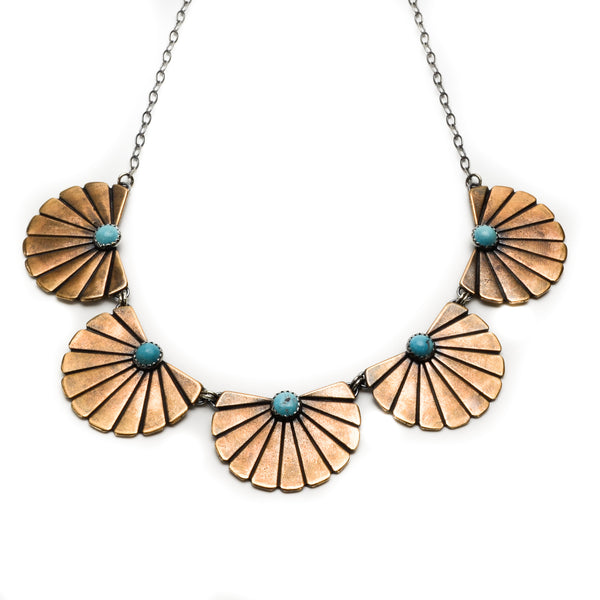 Desert Sunset Necklace - Meltdown Studio Jewelry