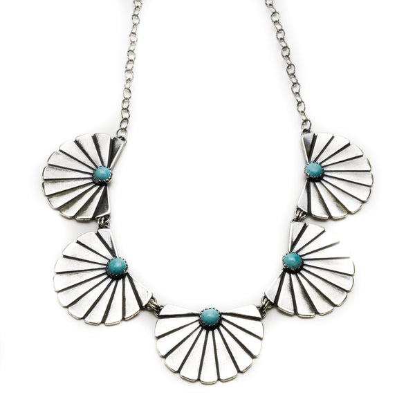 Plaza Collar Necklace - Meltdown Studio Jewelry