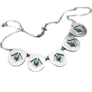 Mesa Sterling Silver Necklace