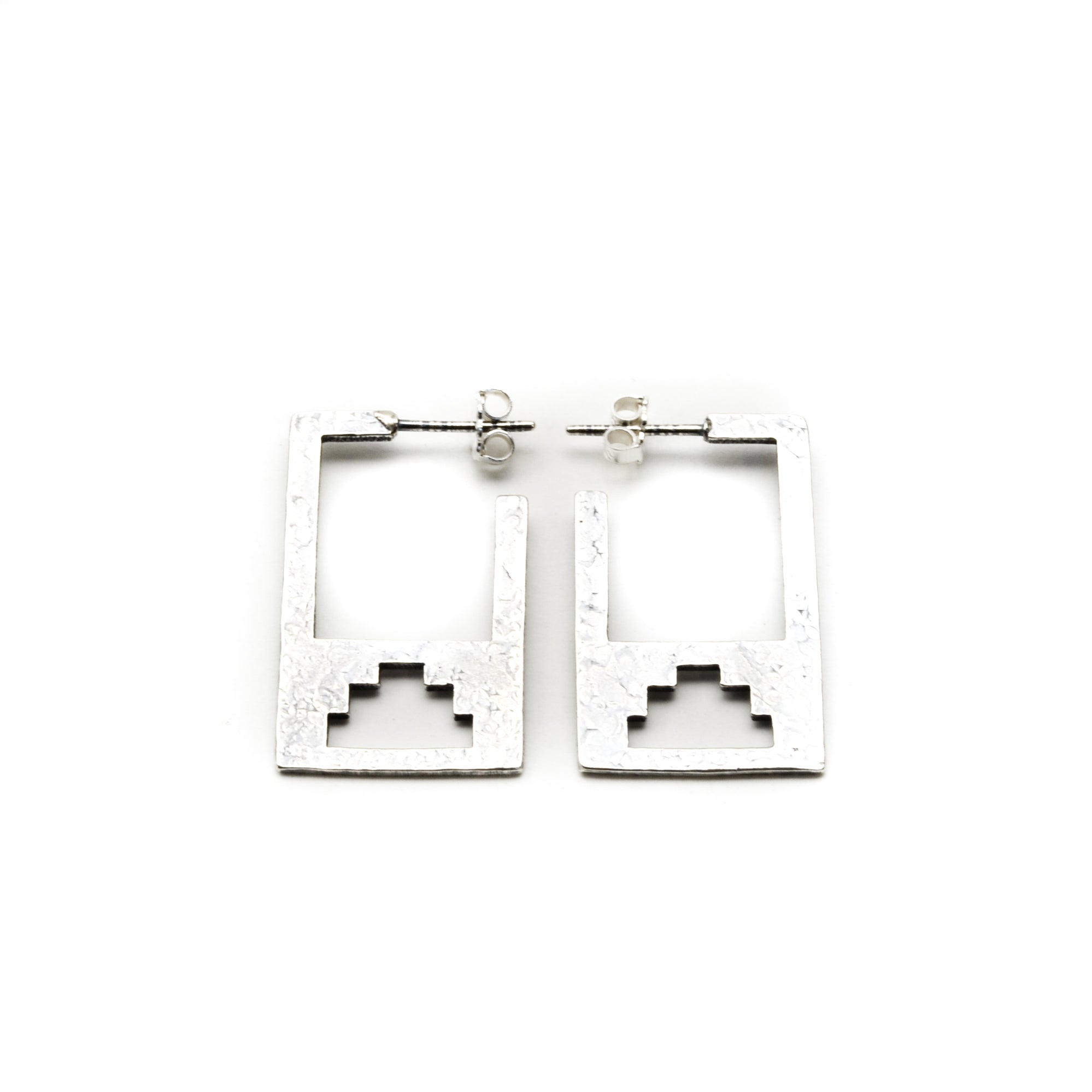 Canyon Sterling Silver Earrings