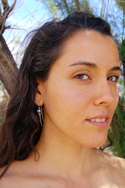 Lightness of Being Earrings - Meltdown Studio Jewelry