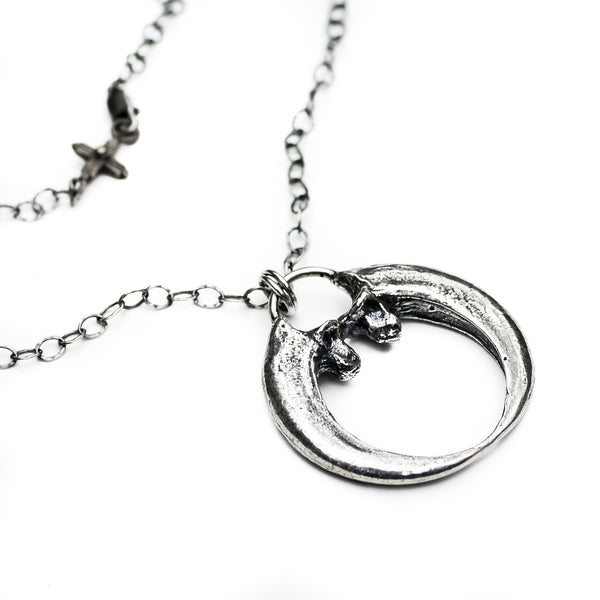 Eagle Talon Naja Sterling Silver Necklace