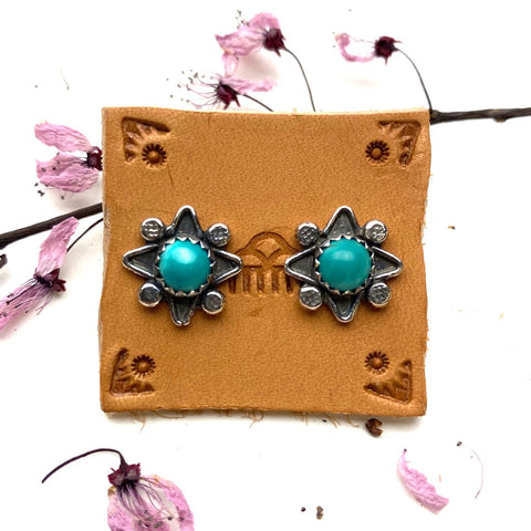 Desert Star Post Earrings - Meltdown Studio Jewelry
