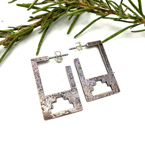 Bronze Canyon Earrings