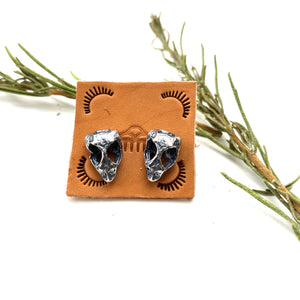 Gila Whiptail Lizard Stud Earrings