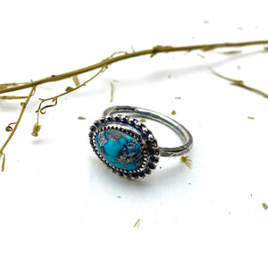 Turquoise Stack Ring - Meltdown Studio Jewelry