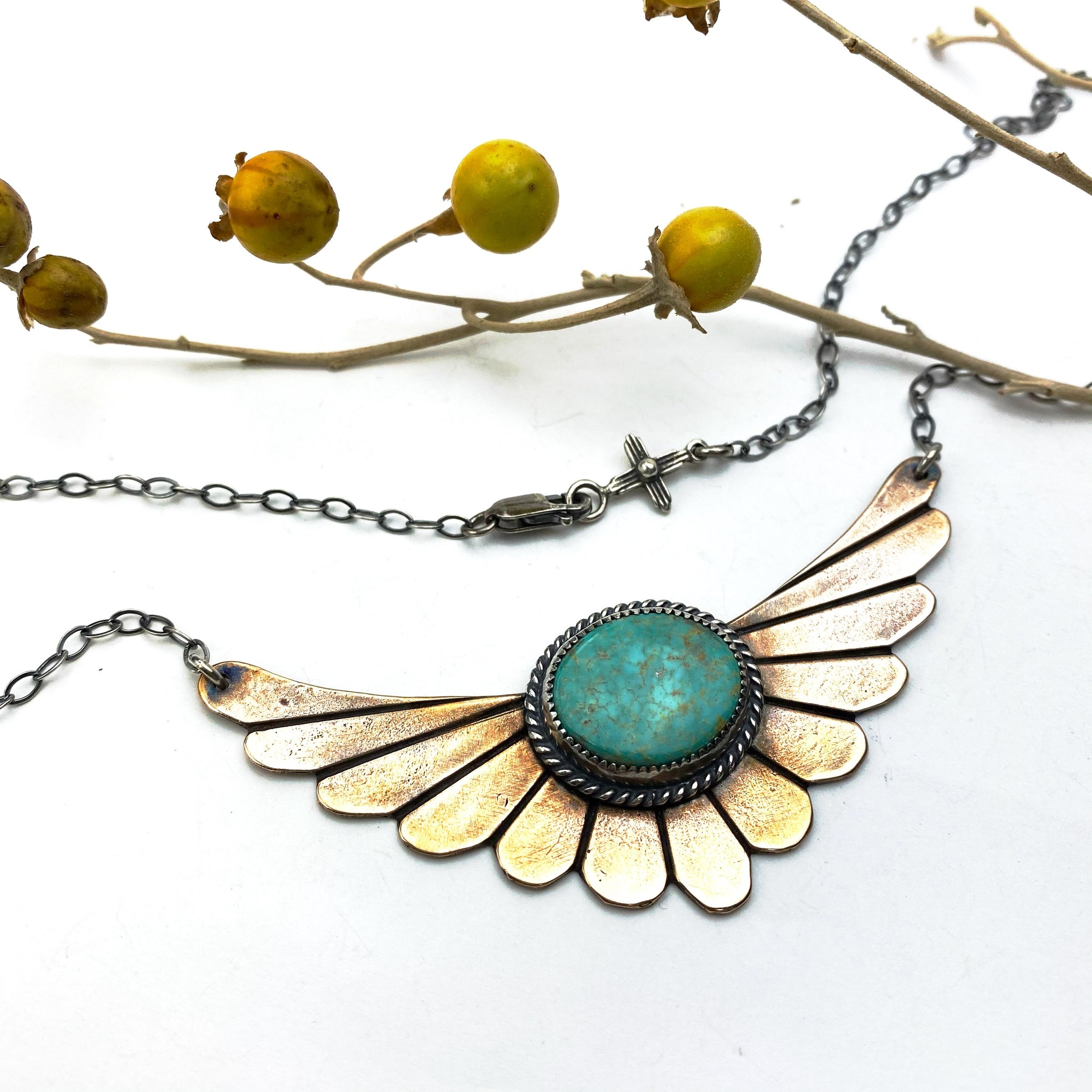 Winged Warrior Necklace