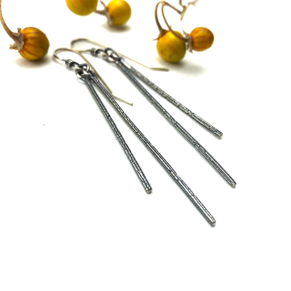 Falling Twig Earrings