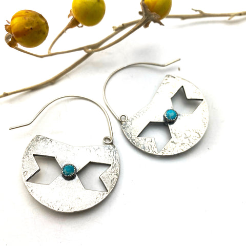Centaury Shield Earrings