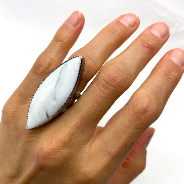 Magnesite Statement Ring