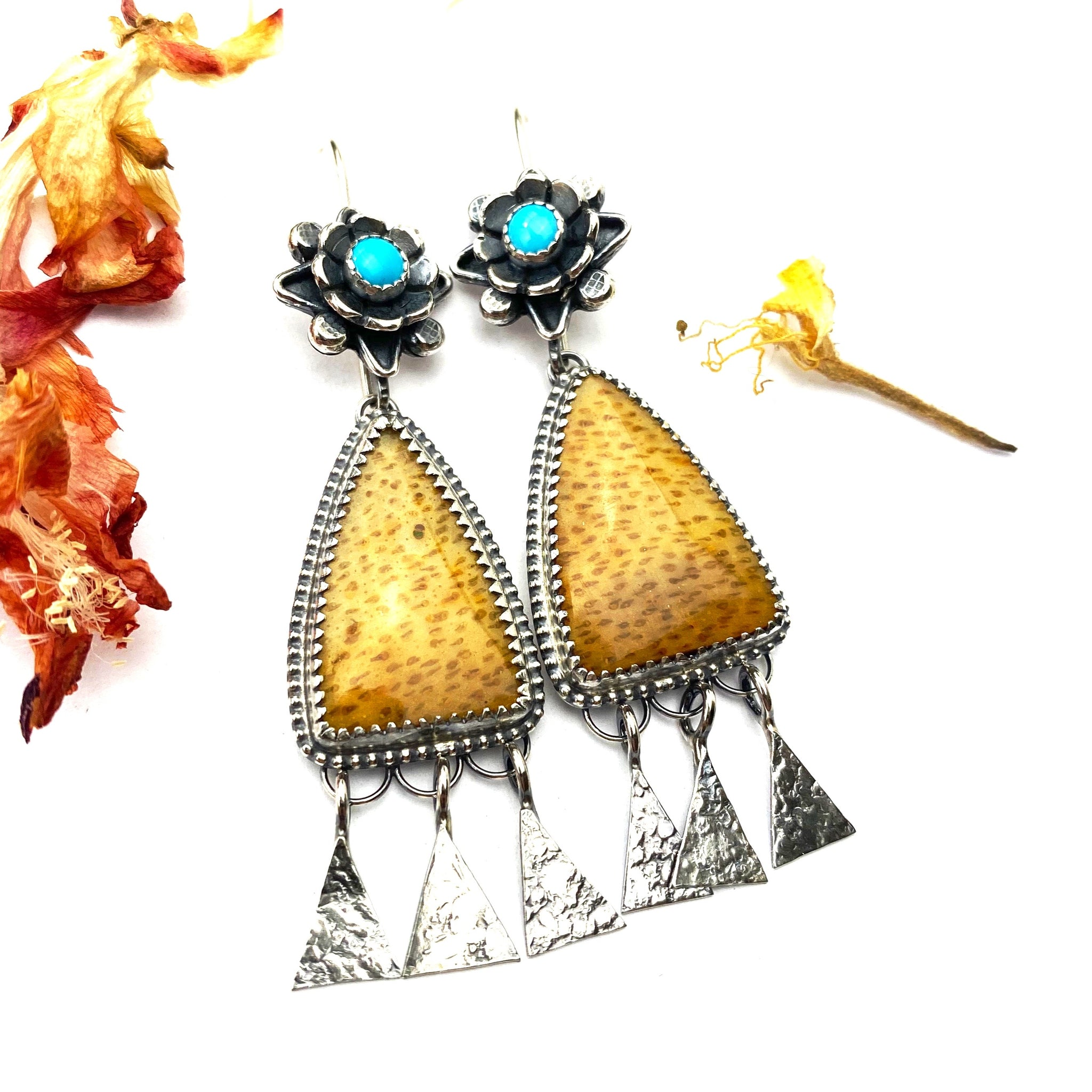 Palmwood Earrings