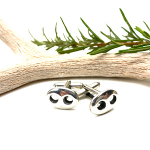 Sterling Button Cufflinks