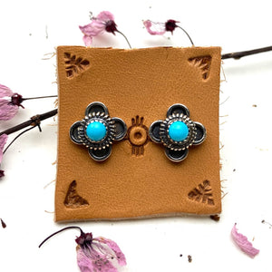 Desert Bloom Post Earrings - Meltdown Studio Jewelry