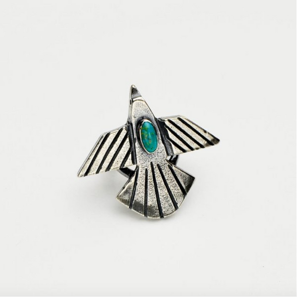 Thunderbird Ring - Meltdown Studio Jewelry