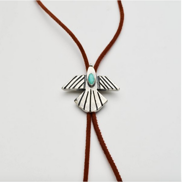 Thunderbird Bolo - Meltdown Studio Jewelry