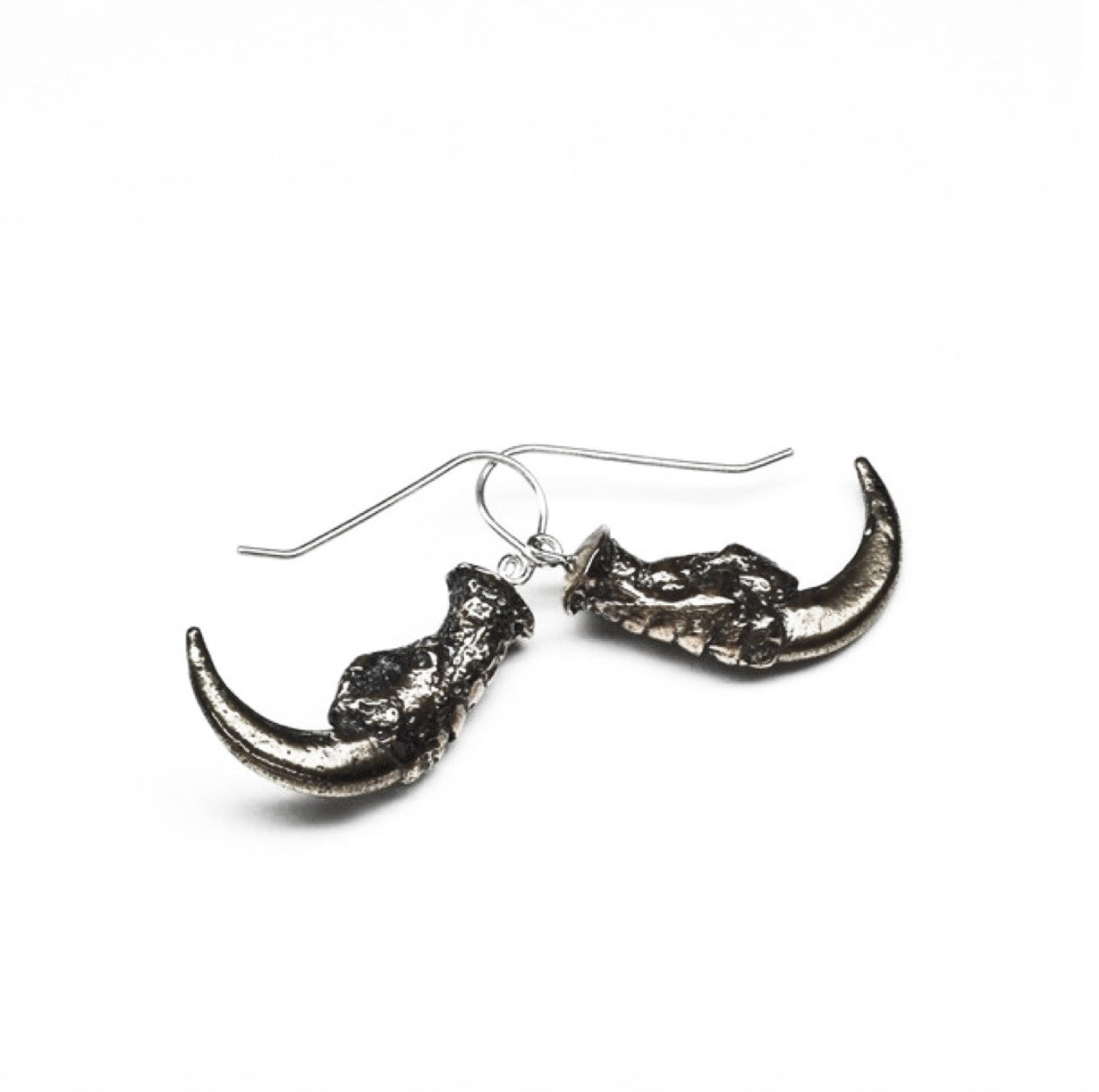 Falcon Rising Sterling Silver Earrings