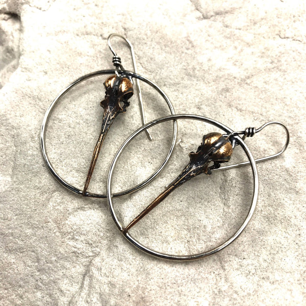 Lightness of Being Hoop Earrings - Meltdown Studio Jewelry