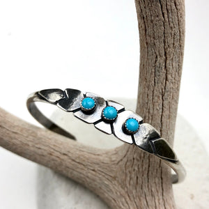 Yucca Cuff Bracelet ((reserved for Jason)) - Meltdown Studio Jewelry