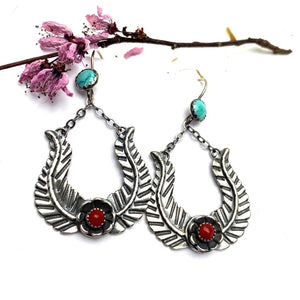 Pluma Earrings - Meltdown Studio Jewelry