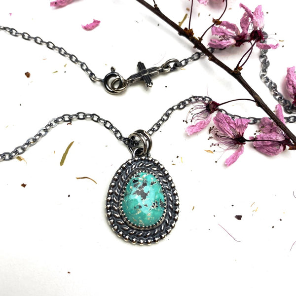 Turquoise Necklace - Meltdown Studio Jewelry