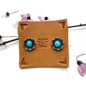 Tiny Flower Earrings - Meltdown Studio Jewelry