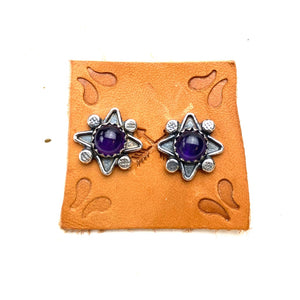 Amethyst Desert Bloom Earrings