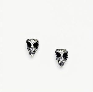 Gila Whiptail Stud Earrings - Meltdown Studio Jewelry