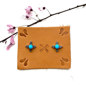 Tiny Zia Earrings - Meltdown Studio Jewelry