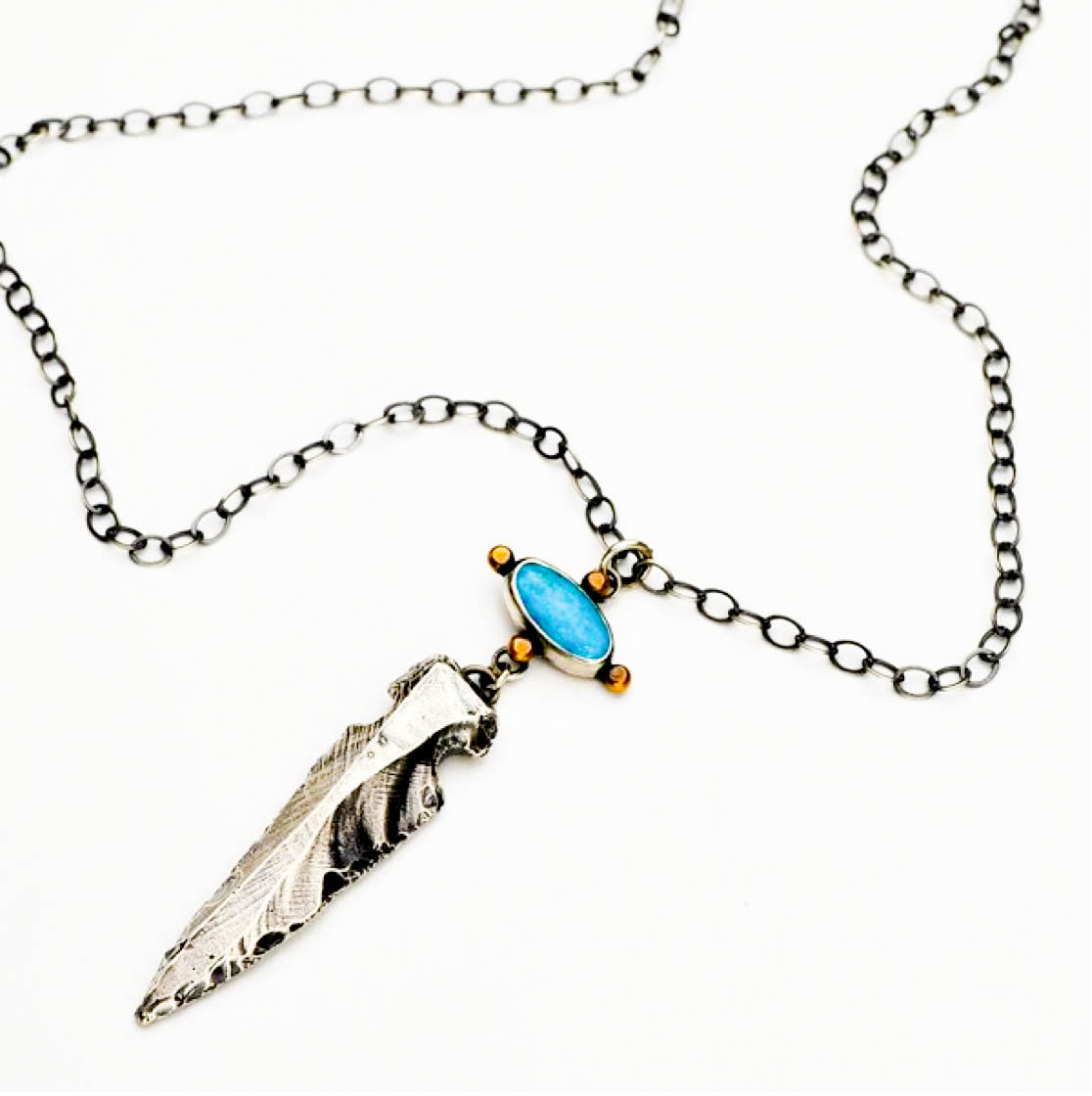 Arrowhead Adventurer Necklace - Meltdown Studio Jewelry