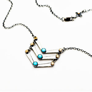 Celestial Ladder Necklace - Meltdown Studio Jewelry