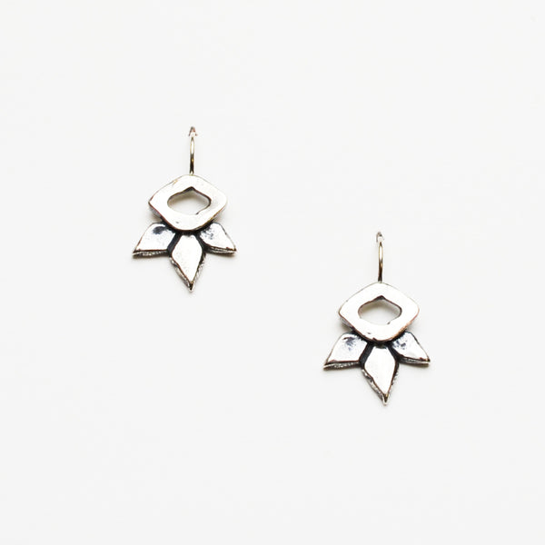 Ternary Devotion Earrings - Meltdown Studio Jewelry