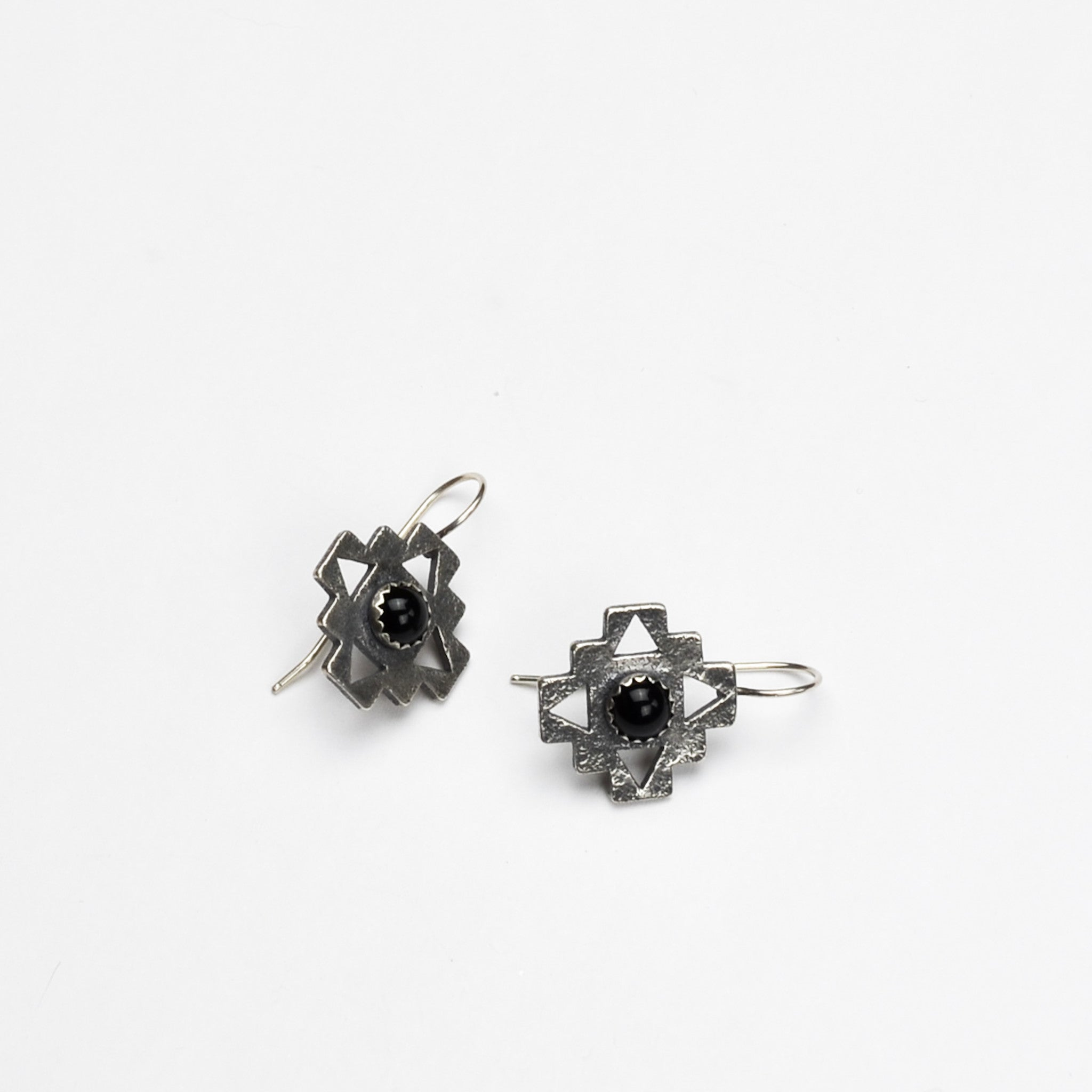 Cruz Sterling Silver Earrings
