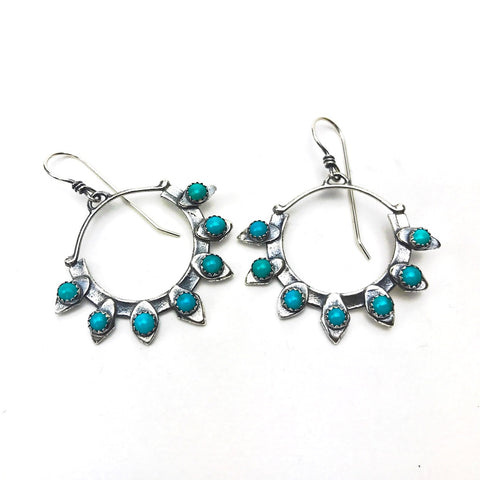 Lacepod Hoop Earrings - Meltdown Studio Jewelry