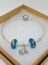 CRA Clown Fish Charm Bracelet Starter Set - Flexible Bangle