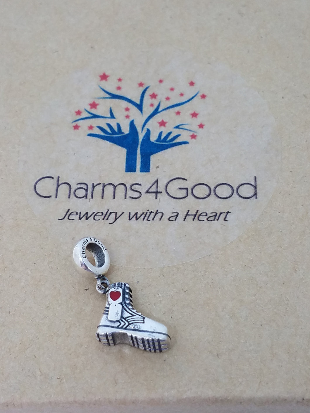 Combat Boot Charm - Donation to Intrepid Fallen Heroes Fund