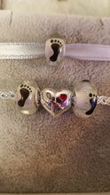 Autism Heart with Puzzle Ribbon Charm - Donation to the Organization for Autism Research