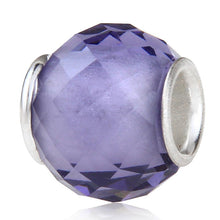 Purple Faceted Bead