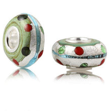 PRE-ORDER NOW! Heart of Honor Murano Glass Charm Bead
